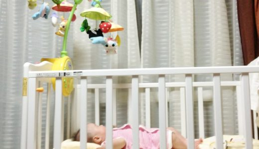 【ベビーベッドと添い寝どっち?】赤ちゃんの夜泣き対策には