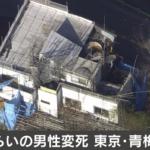 【東京都青梅市成木の住宅事件】犯行動機や名前や顔画像は?事件の可能性はある?