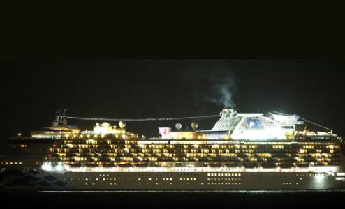 新型コロナ|横浜クルーズ船内の状況は?感染経路どこから!動画・画像!ダイヤモンド・プリンセス号