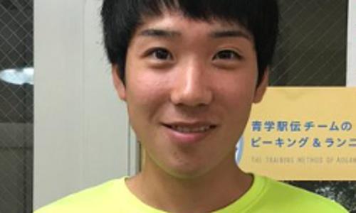 高橋勇輝(青山学院)出身高校は長野日大!中学校はどこ?