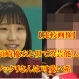 【比較画像】須崎優衣と似てる10人!そっくりすぎる芸能人は関根瞳やかわいい系!