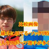 【比較画像】堀米雄斗と似てる12人!そっくりすぎる芸能人やスポーツ選手が多い
